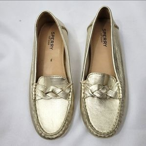 Sperry Top Sider Bridge Loafers Gold (5.5)
